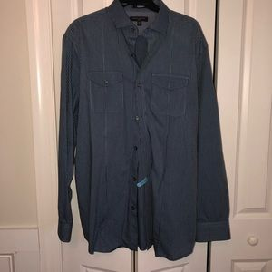 Banana Republic Slim Fit Button Down Shirt